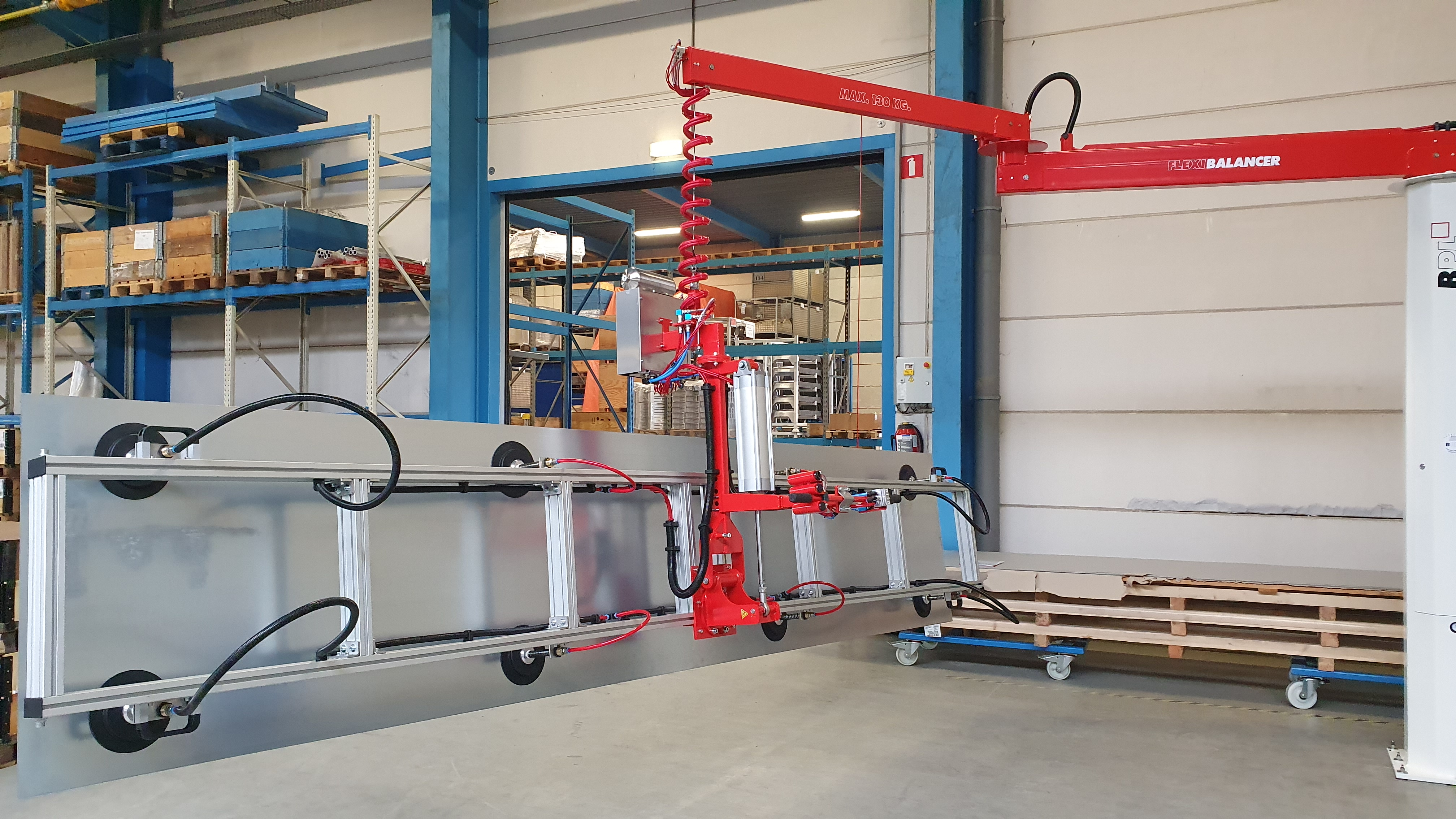 product handling systeem